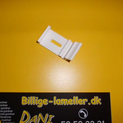 Monteringsbeslag (plast klips) til 45x25mm system, hvid