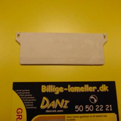 Bundvægt 127mm, hvid