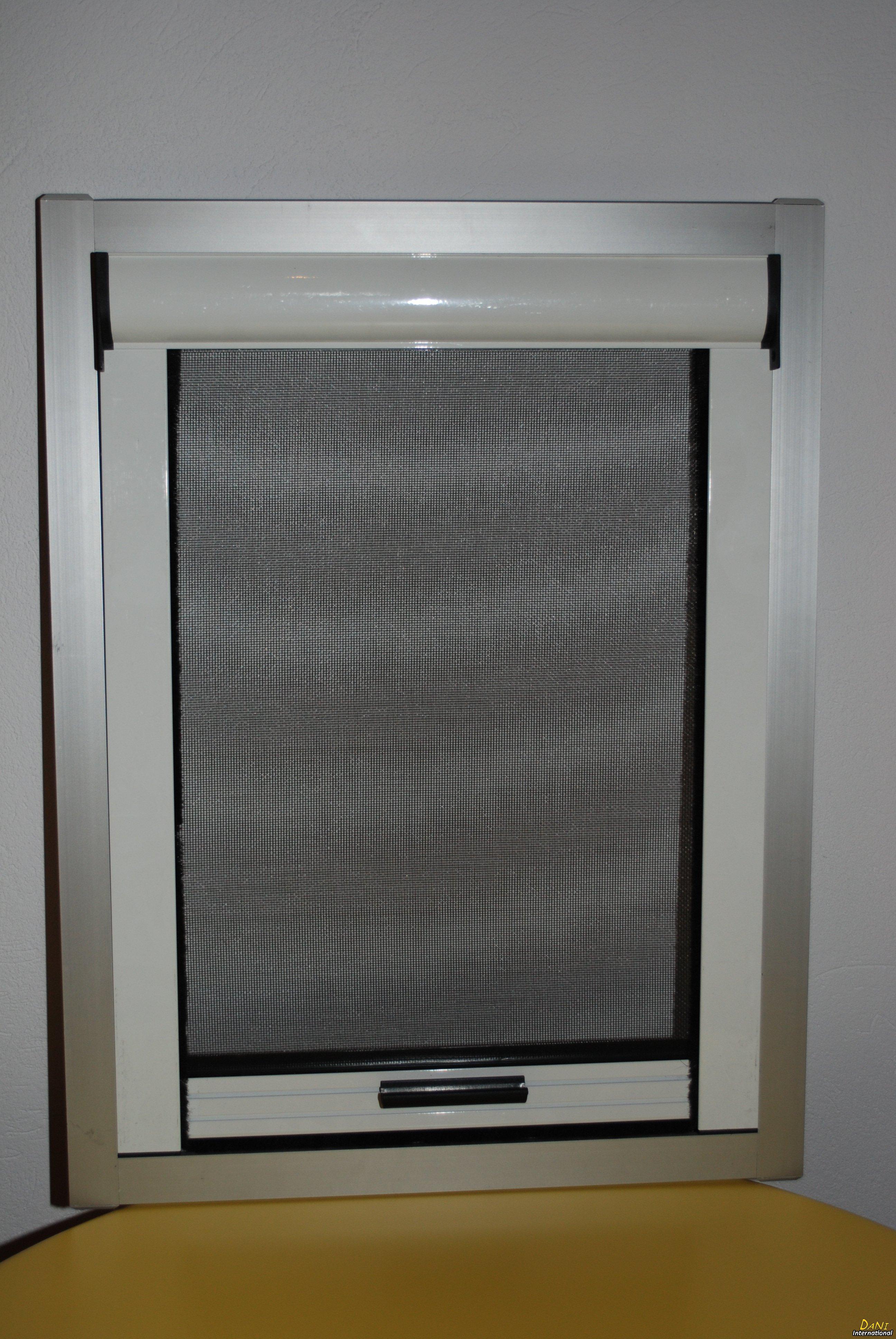net kassette vindue